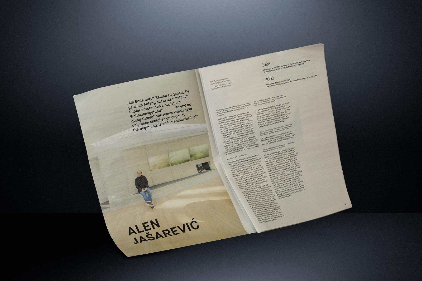 Editorial Magazine Architecture